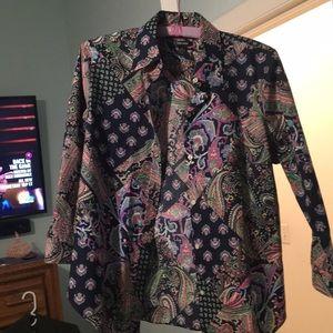 Multi colored beautiful blouse